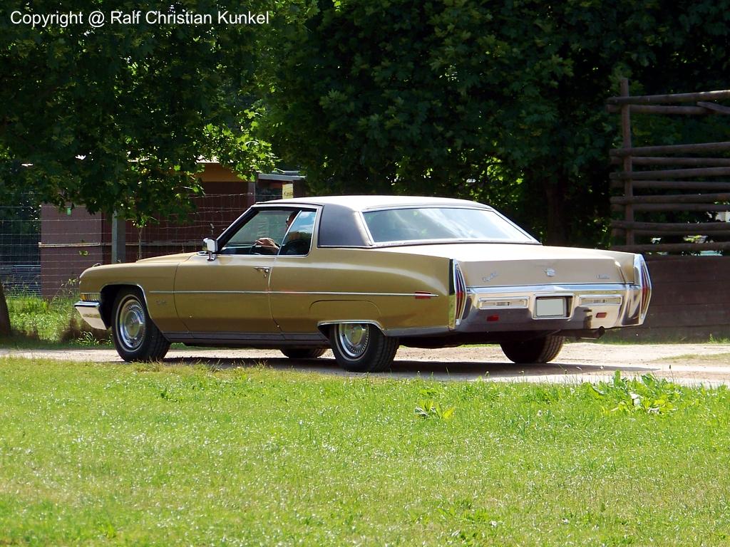 1971er Cadillac Coupe de Ville