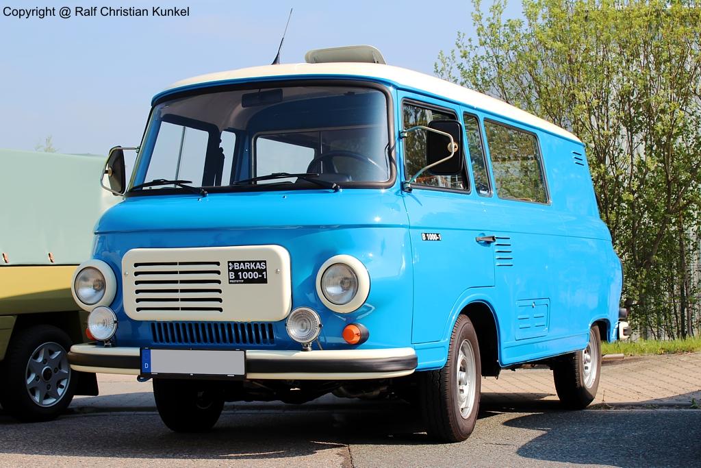 barkas b 1000 1 km prototyp kastenmehrzweckwagen mit. Black Bedroom Furniture Sets. Home Design Ideas