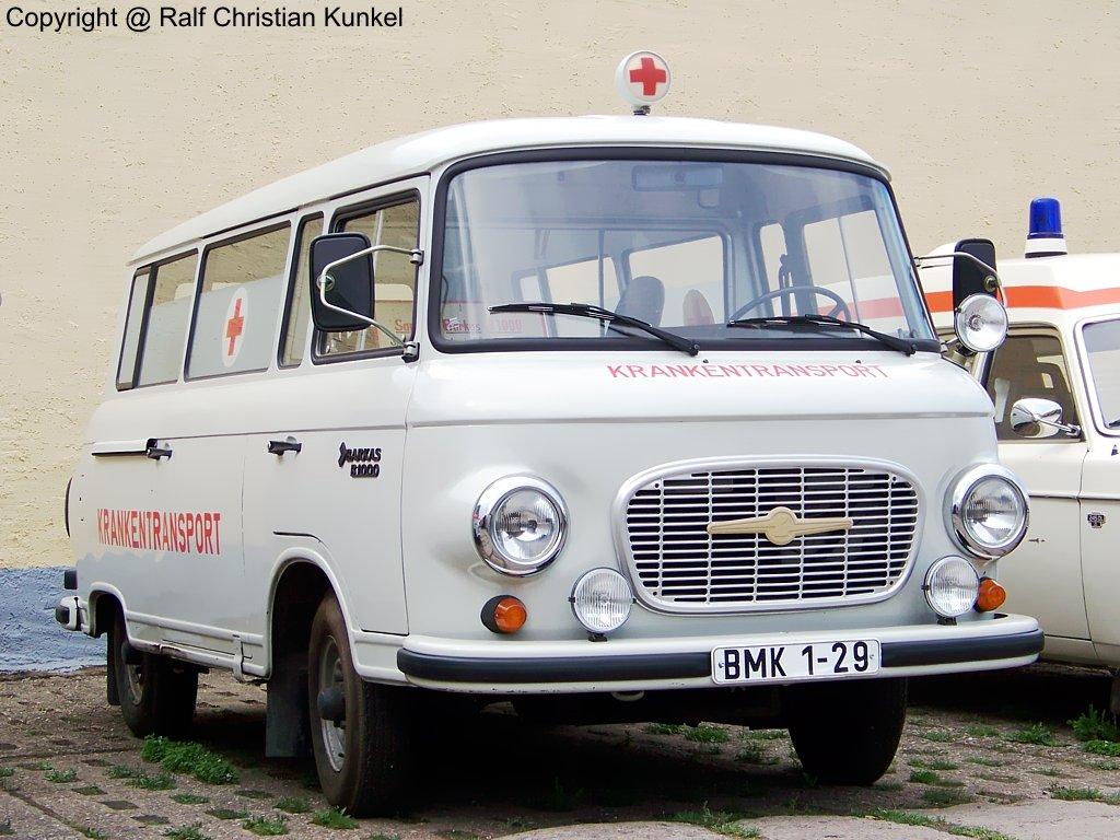 Barkas B 1000 Ktw Krankentransportwagen Deutsches Rotes