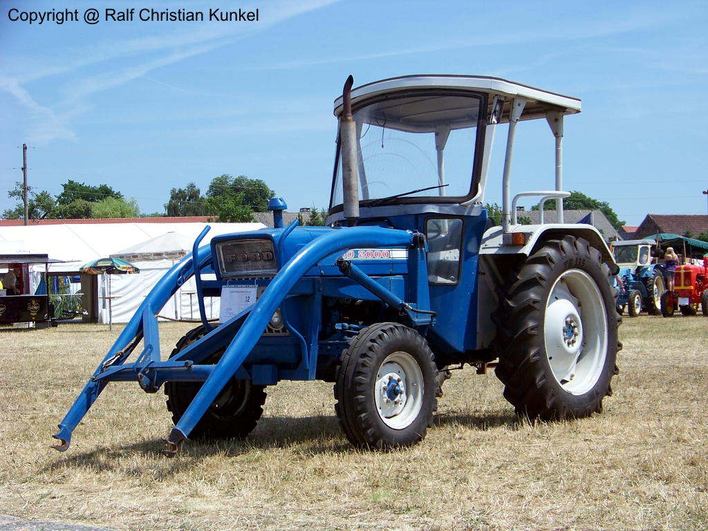 Ford 3600 Tractor Specifications