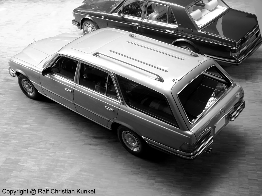 Mercedes w 116 crayford for Mercedes benz germany internship