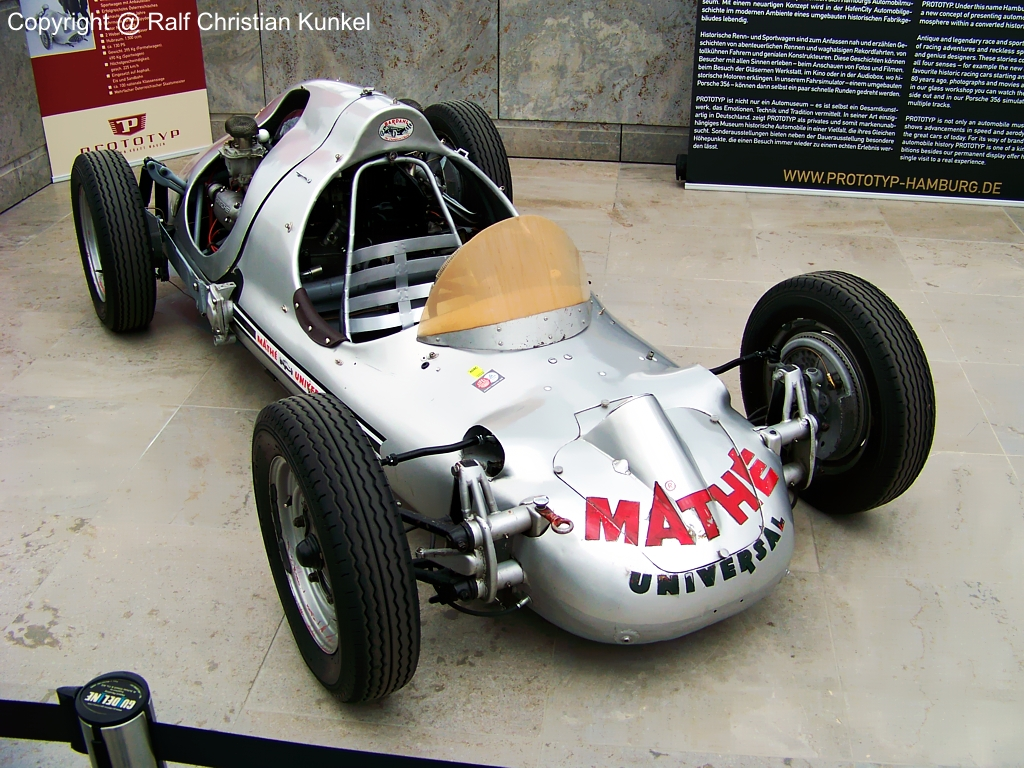 Otto Mathé Fetzenflieger Prototyp - Baujahr 1952 - handgefertigte ...