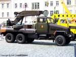 abschleppfahrzeuge/97765/adk-iii3-g5-a---abschleppfahrzeug-der-nationalen ADK III/3-G5-A - Abschleppfahrzeug der Nationalen Volksarmee (NVA) mit einem Aufbau hergestellt im VEB Hebezeugwerk Sebnitz (ABUS), DDR - das allradgetriebene Fahrgestell IFA G 5 stammt aus dem VEB Kraftfahrzeugwerk 'Ernst Grube' Werdau - das Fahrzeug basiert auf dem Grundtyp ADK III/3-G5 - mehr zu diesem Kran/Abschleppfahrzeug steht in dem Typenkompass-Buch 'DDR-Baumaschinen', erschienen 2009 im Motorbuch Verlag - fotografiert am 29.06.2009 in Sebnitz - Copyright @ Ralf Christian Kunkel