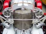 series-ii-phaeton/160172/front-eines-excalibur-series-ii-iib Front eines Excalibur Series II (IIb) Phaeton mit 7,4-Liter-'Big-Block'-V8-Motor (275 PS; 530 Nm), 3-Gang-Automatikgetriebe; Chevrolet Corvette C3-Mechanik - BJ 1973 - Als Vorlage des Excalibur diente der Mercedes SS von 1928. Die Gesamtzahl besträt nur 192 handgearbeitete Stück. - fotografiert am 09.09.2011 im Meilenwerk Berlin - Copyright @ Ralf Christian Kunkel