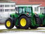 7530/136840/john-deere-7530-premium---traktor John Deere 7530 Premium - Traktor, Schlepper - fotografiert am 09.01.2011 im Land Brandenburg - Copyright @ Ralf Christian Kunkel