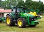 8345/142031/john-deere-8345-r---traktor John Deere 8345 R - Traktor, Schlepper - fotografiert am 28.05.2011 im Land Brandenburg - Copyright @ Ralf Christian Kunkel