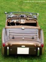 20070929/174150/triumph-tr-3-a-roadster-- Triumph TR 3 A Roadster - BJ 1960 - Großbritannien - fotografiert zu den British Car Classics am 29.09.2007 auf Schloß Hubertushöhe in Storkow - Copyright @ Ralf Christian Kunkel