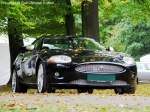 20070929/91462/jaguar-xkr-42-cabrio---fotografiert Jaguar XKR 4.2 Cabrio - fotografiert am 29.09.2007 zu den British Car Classics auf Schloss Hubertushöhe in Storkow (Storkower See) - Copyright @ Ralf Christian Kunkel